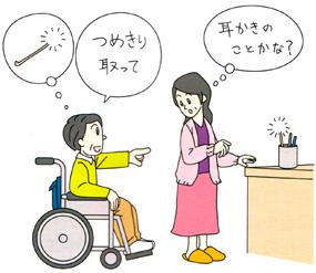 失語症イラスト